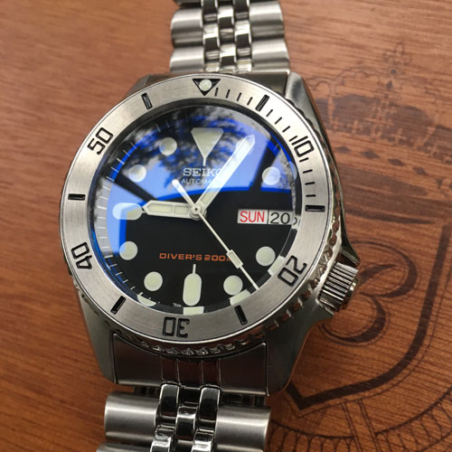 Seiko SKX 007 Custom Modding Deutschland